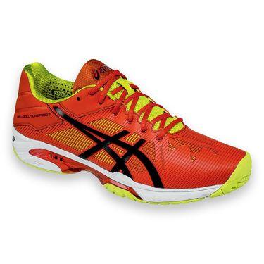 Asics Gel Solution Speed 3 Mens Tennis Shoe - Orange/Black
