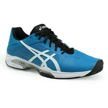 Asics Gel Solution Speed 3 Mens Tennis Shoe - Blue Jewel/White/Black
