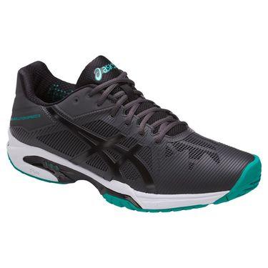 Asics Gel Solution Speed 3 Mens Tennis Shoe - Dark Grey/Black/Lapis