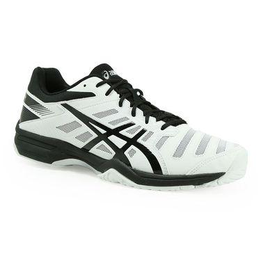 Asics Gel Solution Slam 3 Mens Tennis Shoe - White/Black/Silver