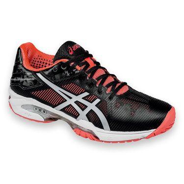Asics Gel Solution Speed 3 Womens Tennis Shoe - Black/Diva Pink