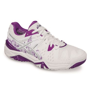 Asics Gel Resolution 6 Limited Edition London Womens Tennis Shoe