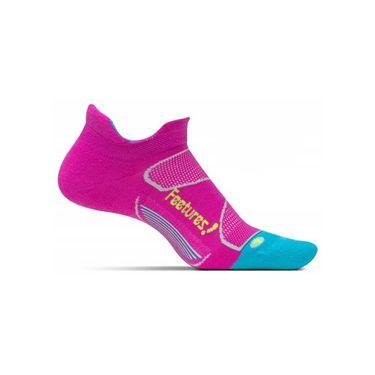 Feetures Elite Max Cushion No Show Tab Sock - Wisteria/Reflector