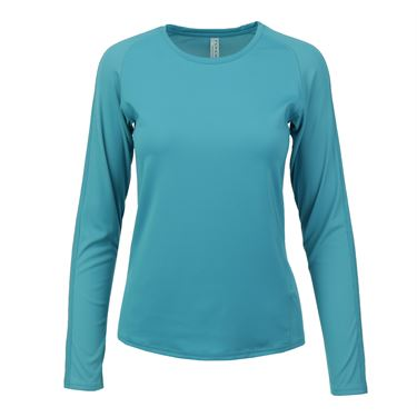 Inphorm Larissa Long Sleeve Crew - Teal