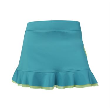 Inphorm Marcela Skirt - Teal/Lime