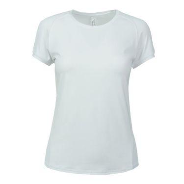Inphorm Larissa Short Sleeve Crew - White