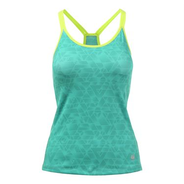 Solfire Transcend Double Up Tank - Sea Green