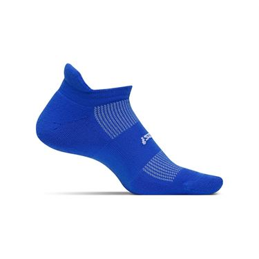 Feetures No Show Tab Sock - Royal Blue
