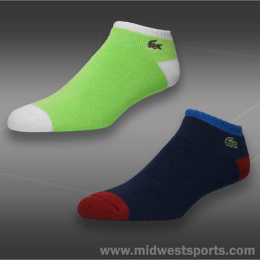 Lacoste Terry Tri Color Ped Sock