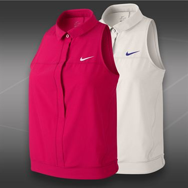 Nike Premier Sleeveless Polo