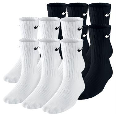 Nike Boys Banded Cotton Crew 6 Pack Socks