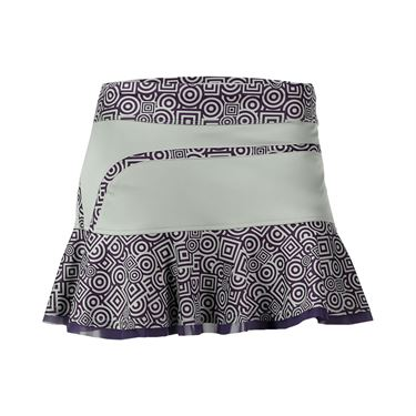 Inphorm Flounce Skirt - Vapor/Grape Print