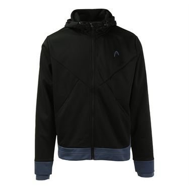 Head Power Hooded Jacket - Black