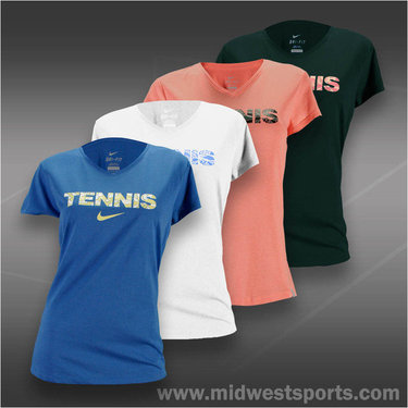 Nike V-Neck Tennis Shirt