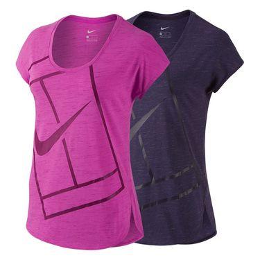 Nike Baseline Short Sleeve Top
