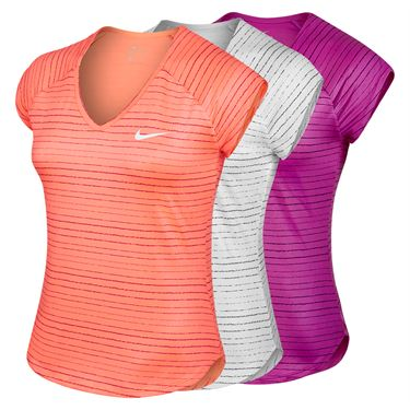 Nike Pure Printed Cap Sleeve Top