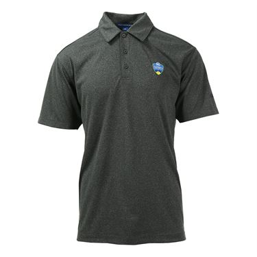 W&S Open Polo - Charcoal Heather