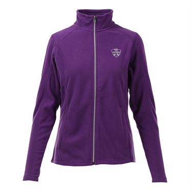 W&S Open Full Zip Fleece Jacket - Amethyst Purple