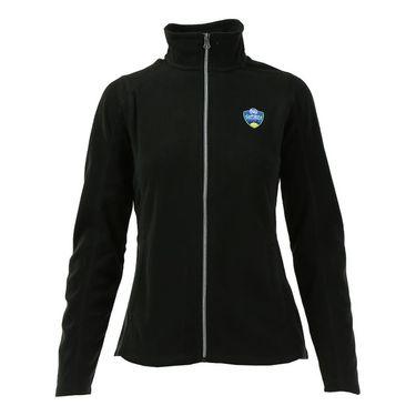 W&S Open Full Zip Fleece Jacket - Black