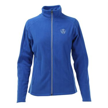 W&S Open Full Zip Fleece Jacket - Light Royal