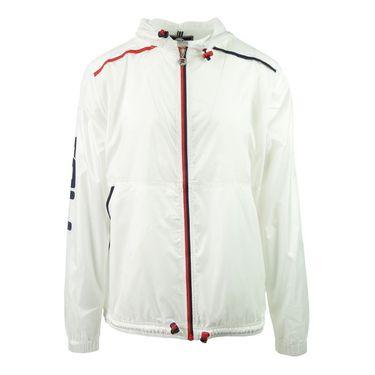 Fila Heritage Perotti Full Zip Jacket - White/Peacoat/Chinese Red