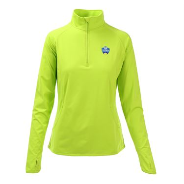 W&S Open 1/4 Pullover - Charge Green