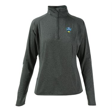 W&S Open 1/4 Pullover - Charcoal Grey Heather