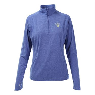 W&S Open 1/4 Pullover - True Royal Heather