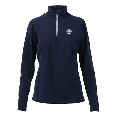 W&S Open 1/4 zip Pullover - Navy