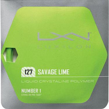Luxilon Savage Lime 127 Tennis String