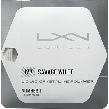 Luxilon Savage White 127 Tennis String