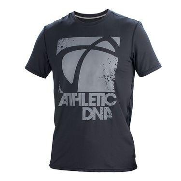 Athletic DNA Graphic Crew Logo - Black