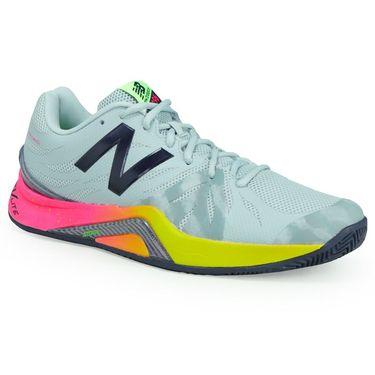 New Balance MC1296E2 (D) Mens Tennis Shoe - Pigment/Energy Lime