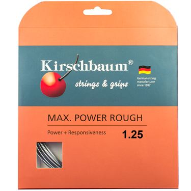Kirschbaum Max Power Rough 17G (1.25mm) Tennis String