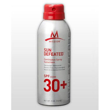 Mission Sun Defeated 30 SPF Sunscreen Spray