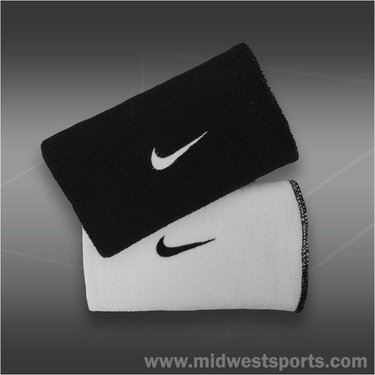 Nike Reversible Doublewide Wristbands NNN03-010OS
