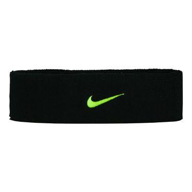 Nike Swoosh Headband - Black/Volt