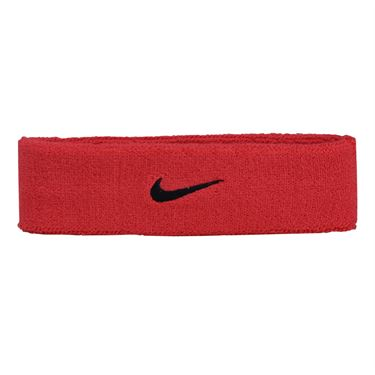 Nike Swoosh Headband - Siren Red/Port Wine