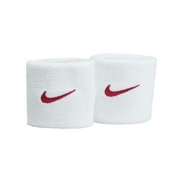 Nike Tennis Premier Wristband - White/Fuchsia Flux