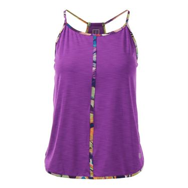 Eleven Prism Harmony Relaxed Tank - Fuchsia