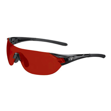 Tifosi Podium Sunglasses Matte Black Clarion Red