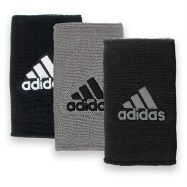 adidas Interval Double Wide Reversible Wristband
