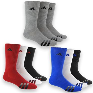 adidas Cushioned 3 Pack Crew Sock