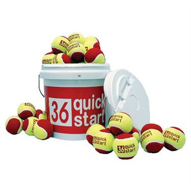 Oncourt Offcourt Quick Start 36 Felt Ball Bucket