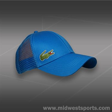 Lacoste Sport Trucker Hat-Blue