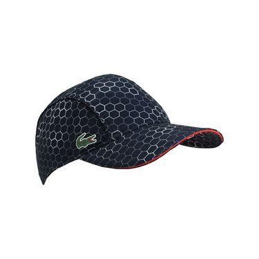 Lacoste Mens Sport Taffeta Hat - Navy/White/Corrida