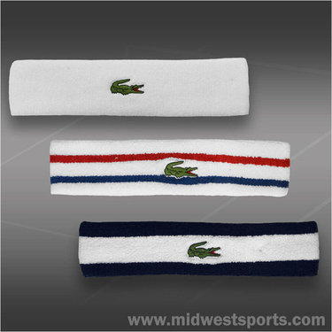 Lacoste Tennis Headband RL1379
