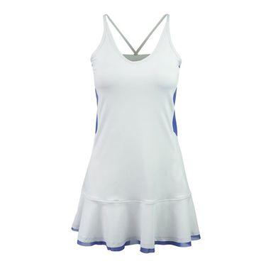 Inphorm Aarica Dress - White/Blue