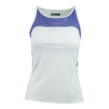Inphorm Brandie Tank - White/Blue