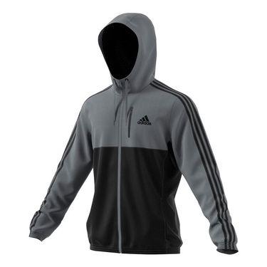 adidas Essential Woven Jacket - Grey/Black